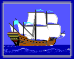 1987 Ship Galleon