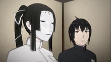 Nagate ask to Kobayashi about various thing