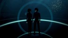 Nagate and Shizuka spend their time at aquarium submarine