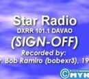 DXRR-FM 101.1 Sign On and Sign Off