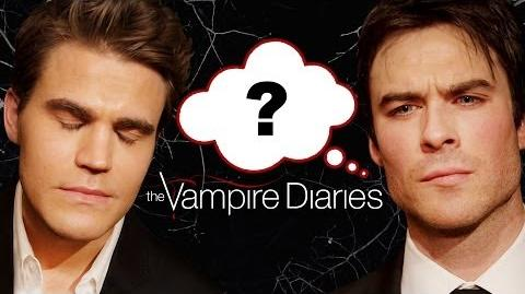 """The Vampire Diaries"" Who Said It Edition - Ian Somerhalder, Paul Wesley, Nina Dobrev"
