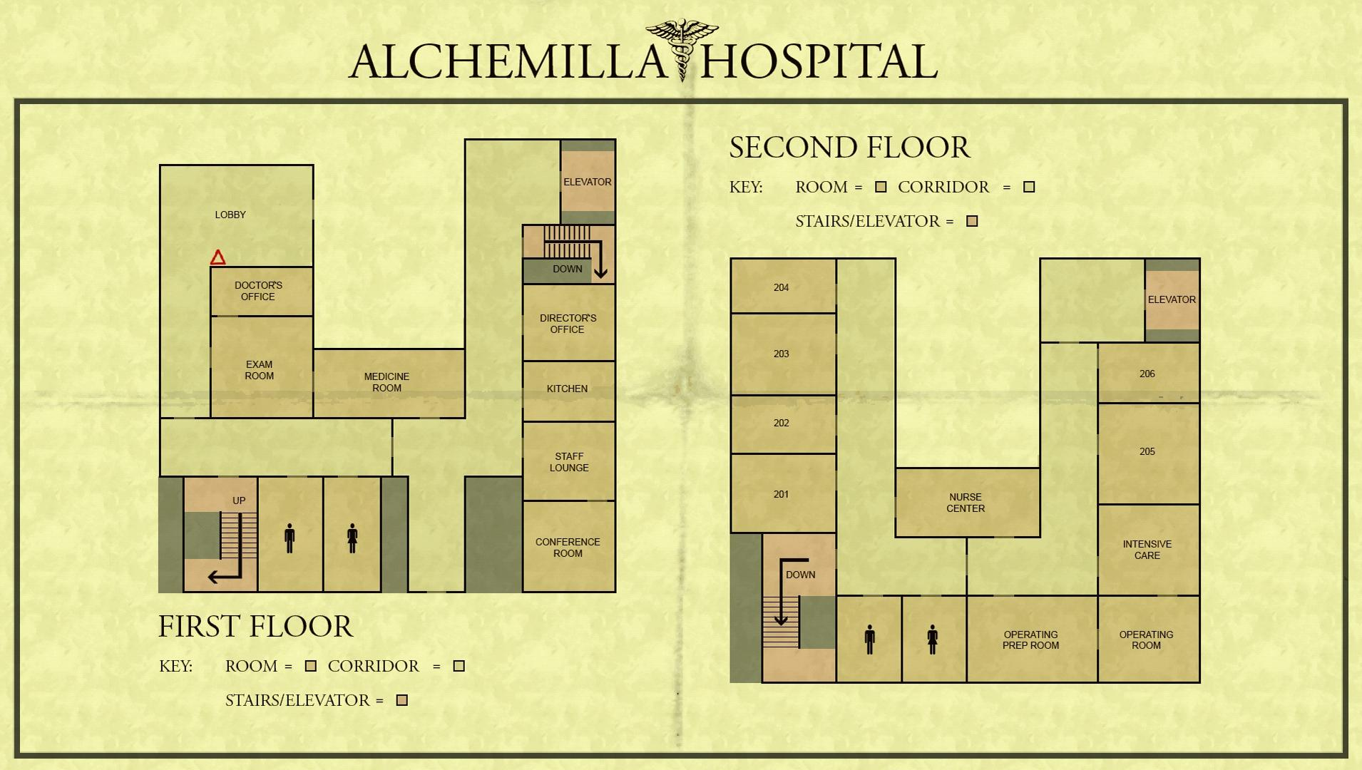 Alchemilla Hospital Silent Hill Wiki Fandom Powered By Induced Info