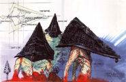Pyramid Head Film Concept Art