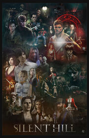 Silent hill saga poster by afullonetouch-d4y67ut