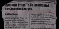 Newspaper Article (Corruption)