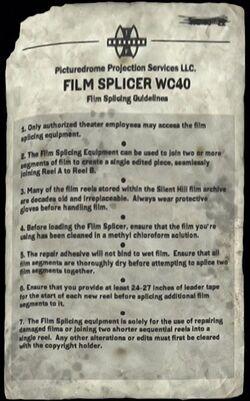 Film Splicing