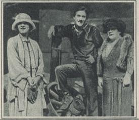 Marilyn Miller, Jack Pickford and Charlotte Pickford in 1924