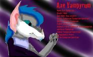 Axe Vampyrum ref