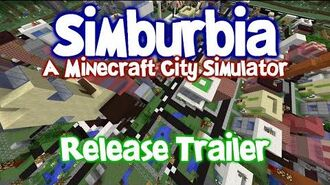 Simburbia Release Trailer - Sim City in Minecraft