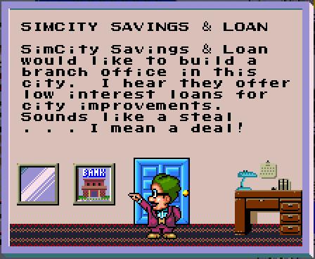 File:SimCity SNES Bank Unlock message.png