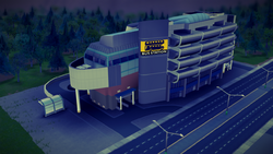 Double-Decker Bus Terminal