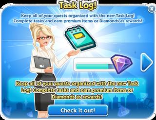 Task Log!