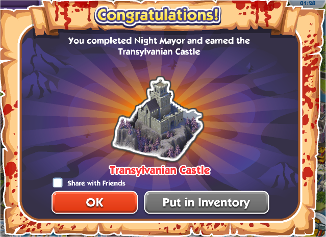 Night Mayor - Reward
