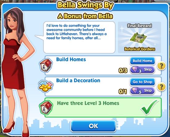 Quest bella Bella-swings-by A-Bonus-from-Bella
