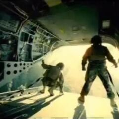 A View from a Universali Air Transport before the Air-Drop