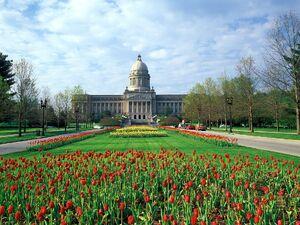 Kentucky-state-capitol-building-frankfort-kentucky