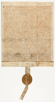 Unification of Aquitania, Treaty of Waeschen