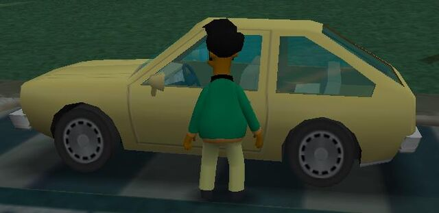 File:Simpsons hit and run Nerd Car.jpg
