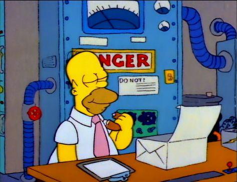 File:Homer eating a donut.jpg