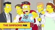 "THE SIMPSONS Sober Duffman from ""Waiting for Duffman"" ANIMATION on FOX"