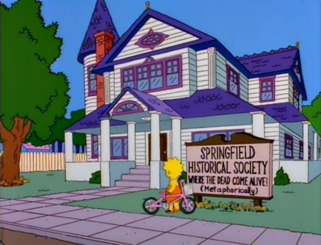 springfield historical society simpsons wiki fandom