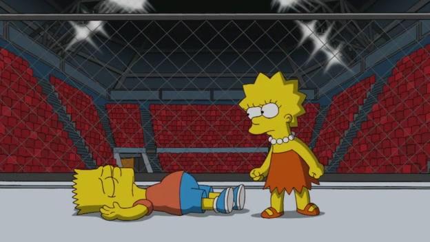 Файл:Lisa Knocks Bart Out.JPG