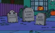 Frank Grimes Grimey Tombstone in Treehouse of Horror XXII