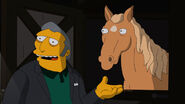 Fit fat tony and his horse