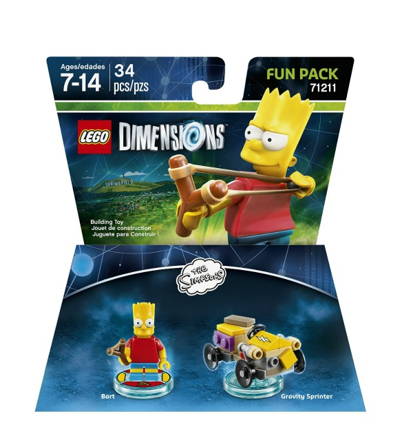 Image - Lego Dimensions The Simpsons Bart Fun Pack.jpg | Simpsons ...