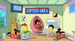 Octuplets in Gifted Area