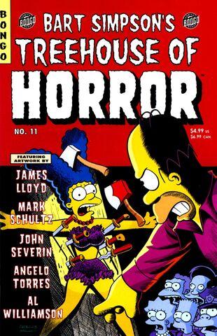 File:Bart Simpson's Treehouse of Horror 11.JPG