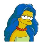 Marge With Hair all Done