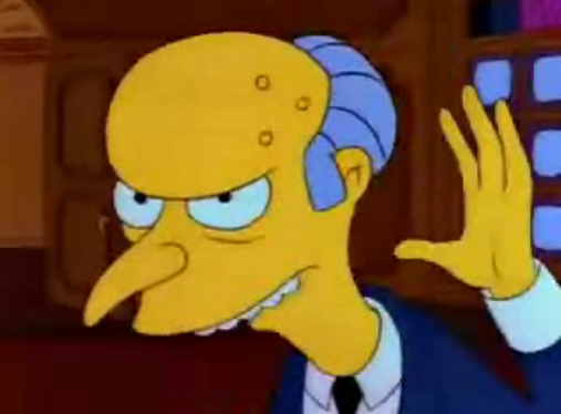 File:Charles Montgomery Burns a bit younger in I Married Marge.png