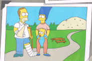 File:Young Hurt Homer and his family.png