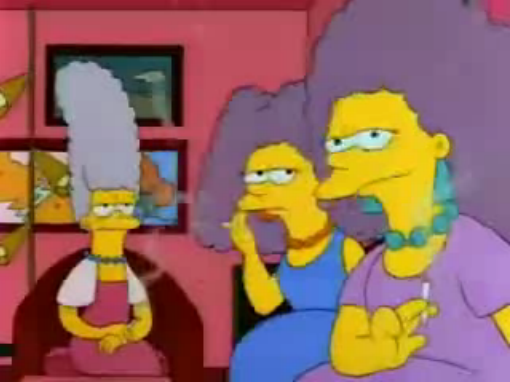File:Jacqueline with Patty and Selma young in I Married Marge.png