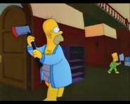 HomerSeesBartAndPreparesToKillHim