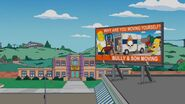 Homerland Billboard Gag