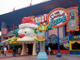 File:The Simpsons Ride at Christmas Time.jpg
