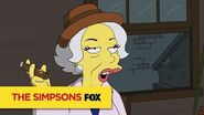 """THE SIMPSONS A Lady Of The Night from """"Lisa with an 'S"""" ANIMATION on FOX"""