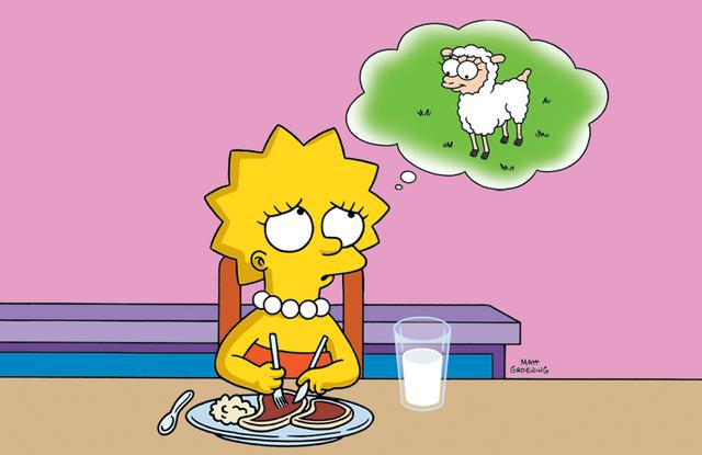 File:Lisa as a vegetarian .png
