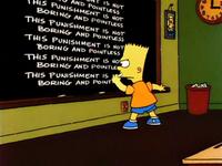 Simpsons-punishment
