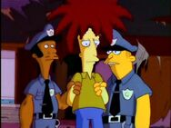 Sideshow Bob and cops