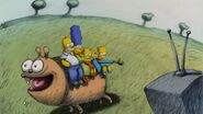 Married to the Blob Couch Gag - 8