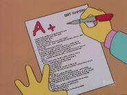 Bart vs. Lisa vs. the Third Grade 45