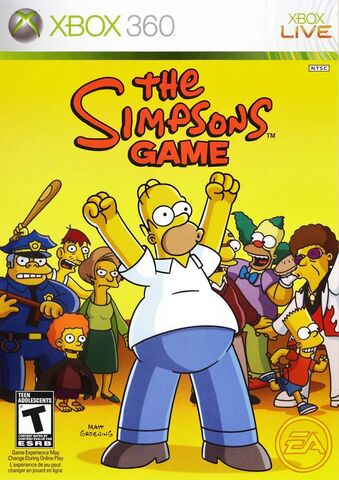 File:The Simpsons Game Xbox 360.jpg