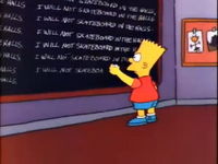 Chalkboard gag (Homer's Odyssey)