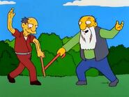 Jasper Old Jewish Man cane battle