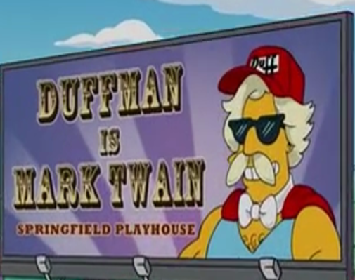 File:Duffman is Mark Twain at the Springfield Playhouse -The Ten-Per-Cent Solution .png
