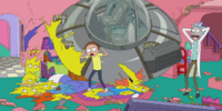 Rick and Morty Couch Gag