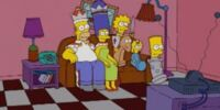 Chess family couch gag